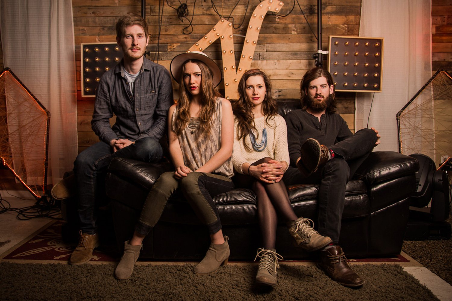 The Vespers by Nashville Band Photographer Jon Karr